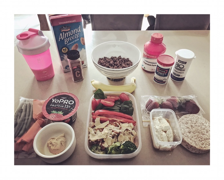 Meal Prep – A Day of Food