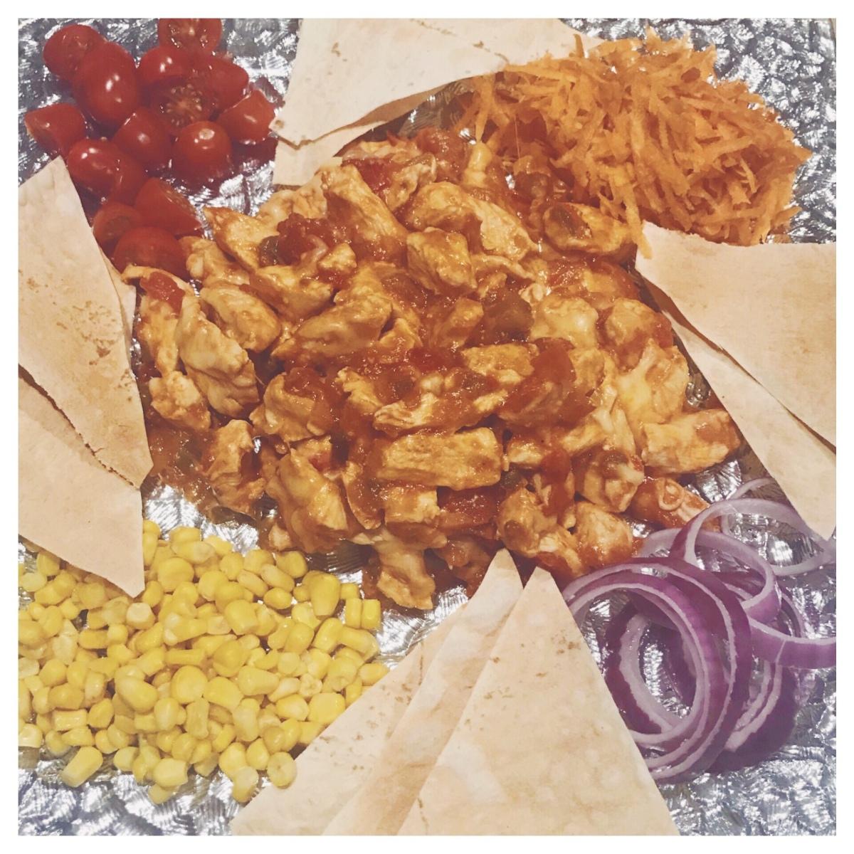 Healthy Chicken Nachos